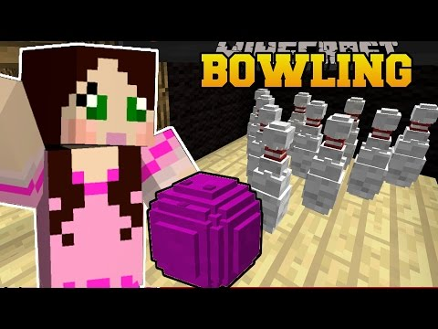 Thumbnail: Minecraft: BOWLING CHALLENGE (WHO WILL GET THE HIGHEST SCORE?) Mini-Game