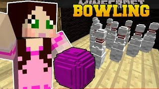 Minecraft: BOWLING CHALLENGE (WHO WILL GET THE HIGHEST SCORE?) Mini-Game