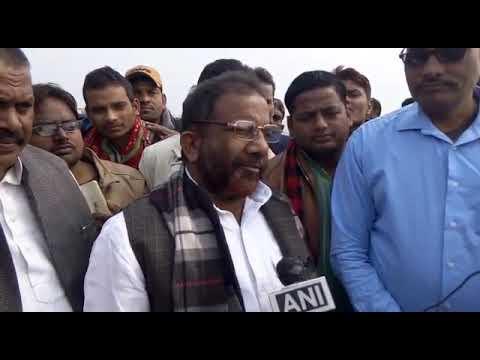 EX Bhadohi MLA  इंदिरामिल फ्लाई ओवर उद्धाटन