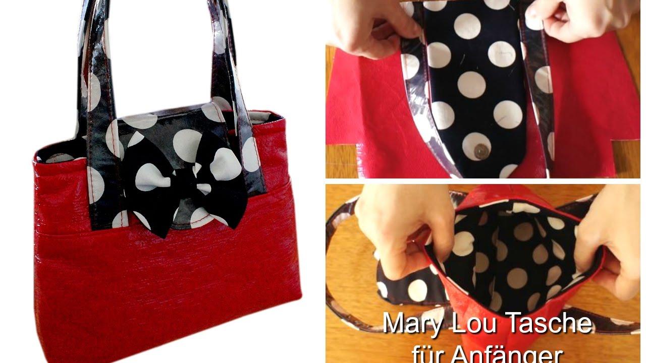 Wie man eine Handtasche näht - Schritt für Schritt Anleitung (Mary ...