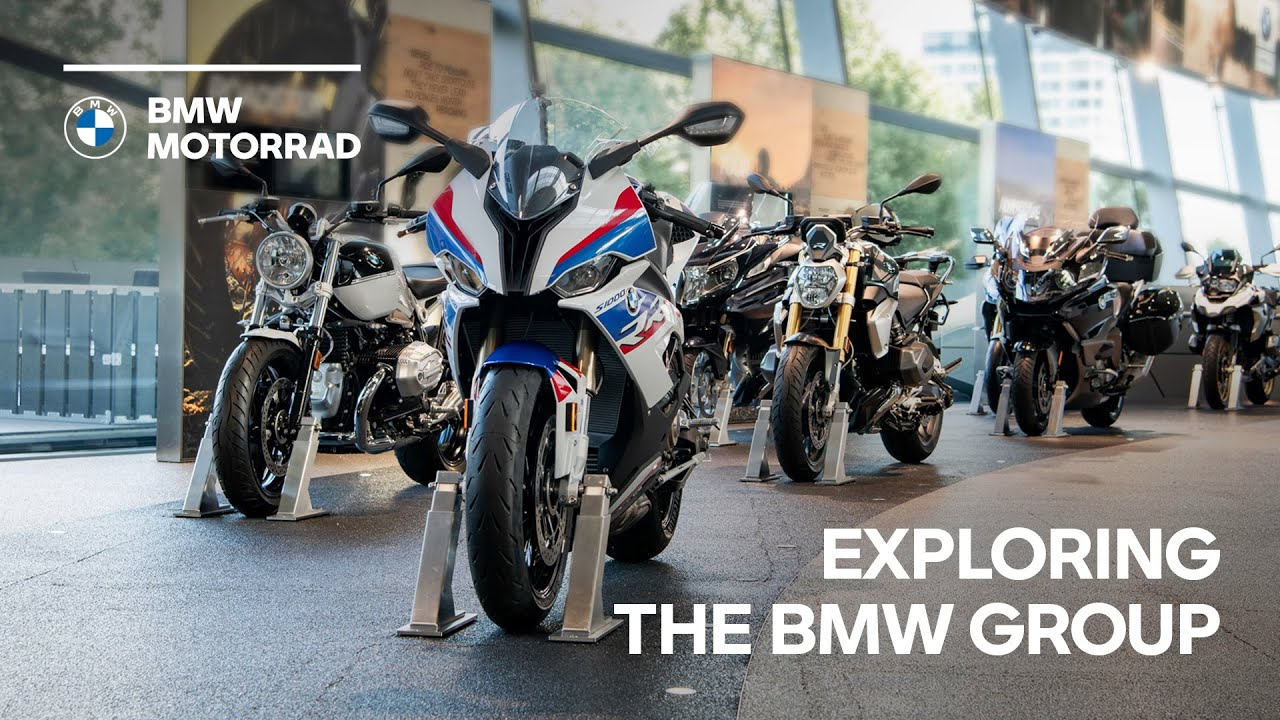 WorldSBK Riders Munich Visit - Exploring the BMW Group