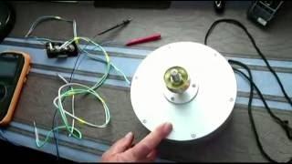 Обзор работы однофазного ветрогенератора