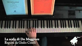 La scala di Do Maggiore (pianoforte)