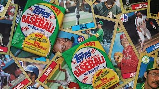 Topps Trading Cards- Life in America