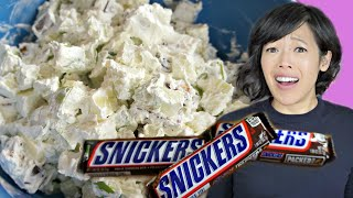 SNICKERS SALAD Retro Recipe Taste Test