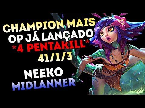 TOP LANE NEEKO BUILD | THIS NEW CHAMPION IS BROKEN | Season 9 TOP Neeko Gameplay League of Legends | FunnyDog.TV