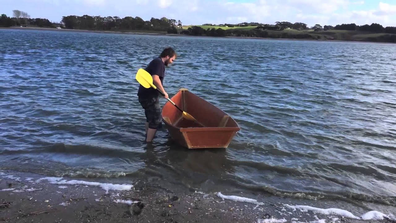 Portuguese Style Dinghy Build (Does It Float?) - YouTube