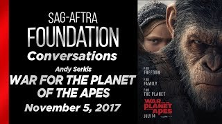 Conversations with Andy Serkis of WAR FOR THE PLANET OF THE APES
