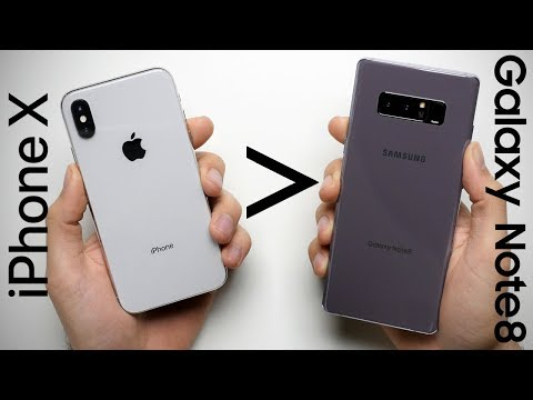 25 Reasons Why iPhone X Is Better Than Galaxy Note 8
