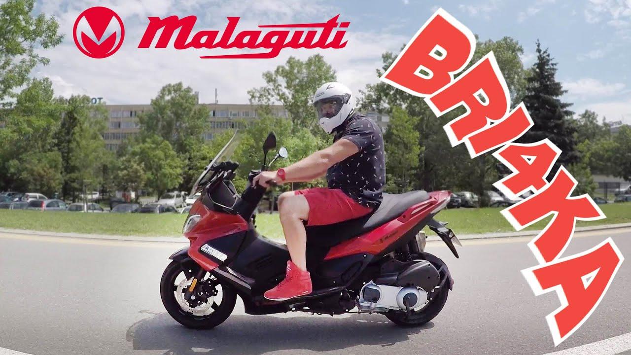 Malaguti Madison 300 - Макси скутера! | Test and Review| Bri4ka.com