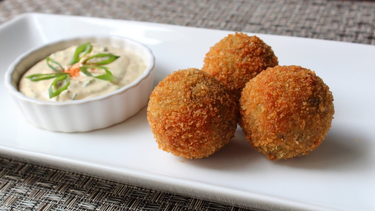 Crispy Fried Boudin Balls Cajun Style Pork Rice Sausage Recipe