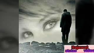 Meri ankho me jale tere khawo k diye kitni bechen ho me sad status