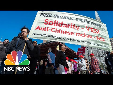 """Words matter"": Asian Americans Confront President Trump's 'Chinese Virus' Rhetoric | NBC News"