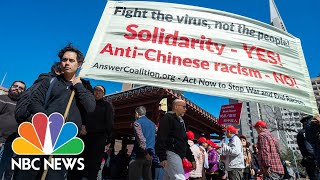 """Words matter"": Asian Americans Confront President Trump's 'Chinese Virus' Rhetoric 