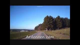 Route van Bure naar Belvaux, Ardennen