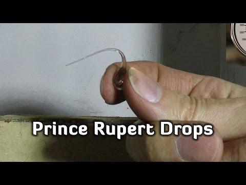 Hydraulic Press | Prince Rupert Drops | Amazing Effect !!