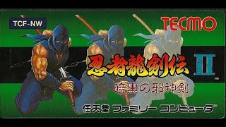 NES Longplay Ninja Gaiden 2 / ファミコン 忍者龍剣伝II