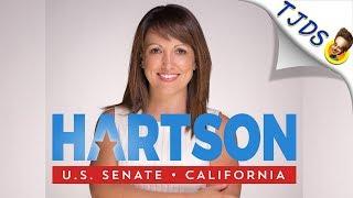 Alison Hartson Destroys Dianne Feinsten's Corporatist Record