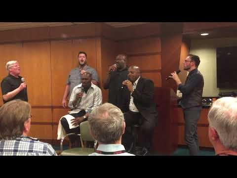 Lead me to rest snipet Acappella Cruise concert 02012018