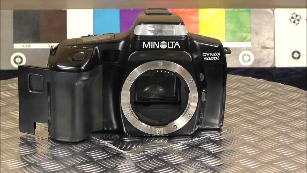 konica minolta dynax 5000i youtube rh youtube com Minolta X-700 Lens Mount