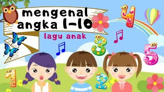 Lagu Sepuluh Angka Lagu Anak Indonesia| Lagu 123
