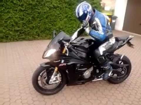 BMW S1000RR Black Short Clip Cam