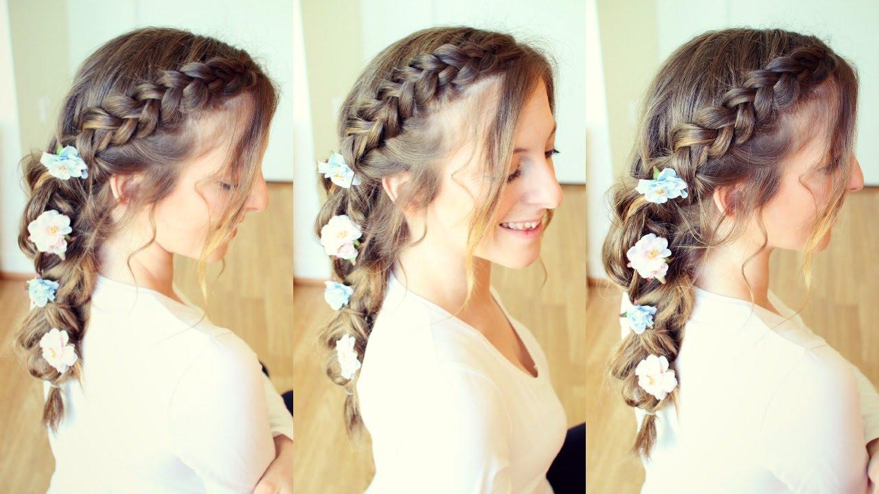 Messy Spring / Boho Braided Hairstyle   Braidsandstyles12
