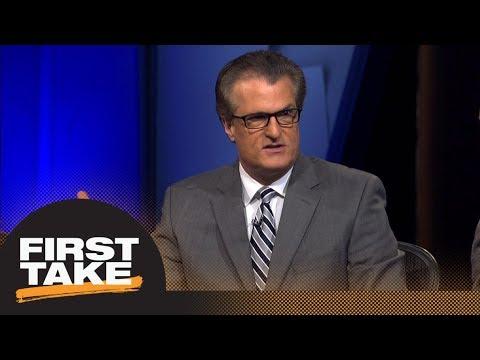 First Take reacts to Mel Kiper's NFL mock draft | First Take | ESPN