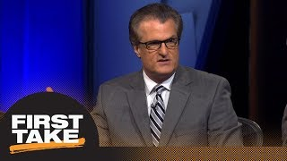 First Take reacts to Mel Kiper's NFL mock draft | First Take | ESPN