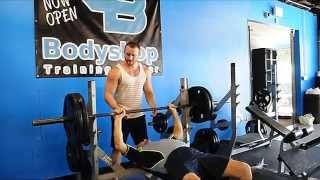 80 year old benchpress workout