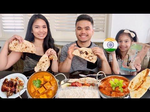 INDIAN FOOD MUKBANG / EATING SHOW