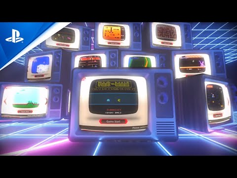 Namco Museum Archive Vol 1 & 2 - Launch Trailer   PS4