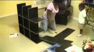 Building Of  Shoe Rack
