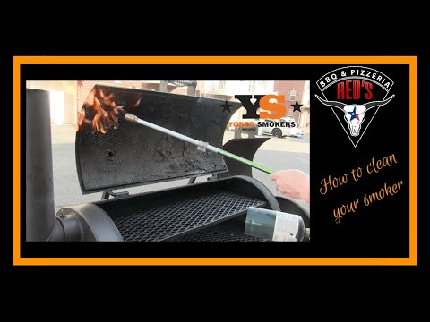 How to Clean your Smoker #YoderSmokers #Offset #BBQ