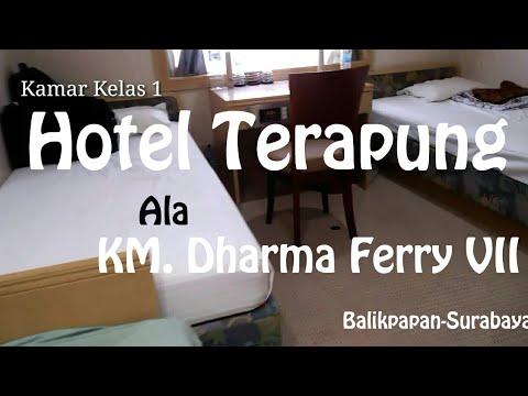 Wow Mewahnya Kamar Kelas 1 Km Dharma Ferry Vii Bpn Sub Youtube