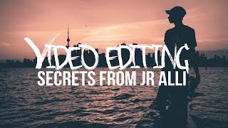 EASY Video Editing TIPS that look PRO ft. JR ALLI