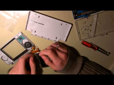 Taller: Reparando Nientendo DS Lite