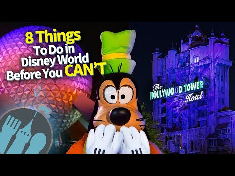 8 Things You Should Do in Disney World Before You Can't!
