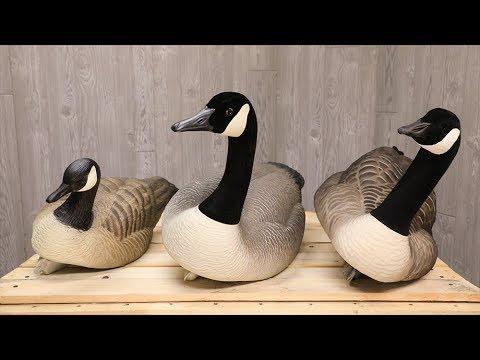 Canada Goose Floating Decoy Comparison II