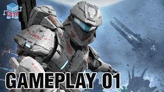 Halo Spartan Assault Xbox One Gameplay 01