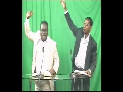 Reverand KONAN eugène à la television du niger