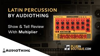 Latin Percussion Drum Machine By AudioThing - Show Reveal With Multiplier