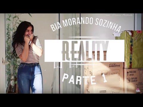 A MUDANÇA COMEÇOU!! REALITY #BIAMORANDOSOZINHA EP 01