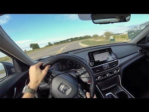 2018 Honda Accord 2.0T Touring 10-Speed Automatic - POV First Impressions (Binaural Audio)