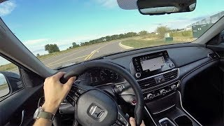 2018 Honda Accord 2.0T Touring 10-Speed Automatic - POV First Impressions (Binaural Audio)