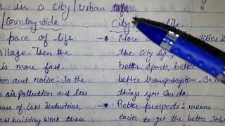 City life vs. Village life | Comparison question-2019 | IELTS Speaking Part-3 | Vashist IELTS