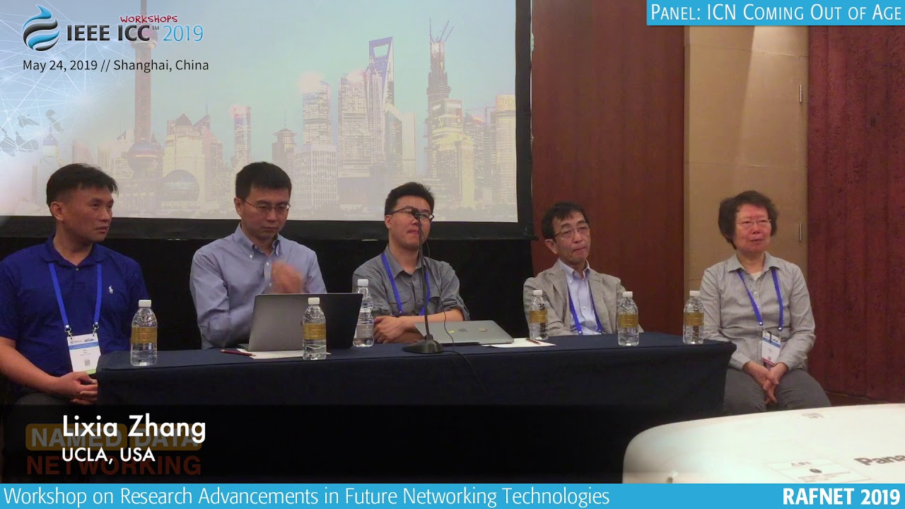 ICN Going Out of Age // ICC 2019 RAFNET Panel