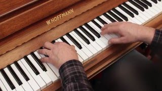 Exploring Jazz Piano Vol 1 – Tim Richards, 1. Pentatonic scales & two-chord vamps