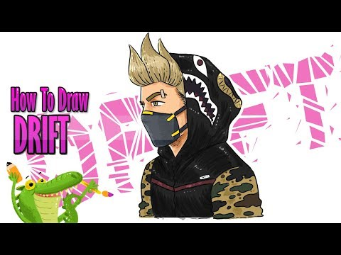 How To Draw And Coloring DRIFT FORTNITE Step By Step