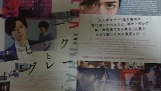ピンクとグレー 2016 映画チラシ 2016年1月9日公開 シェアOK お気軽に ...